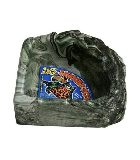 Zoo Med Repti Rock Corner Water Dish (Small)