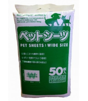 Yunic Pet Sheets Superwide 45x60cm 50pcs