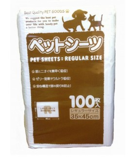 Yunic Pet Sheets Superwide 35x45cm 100pcs