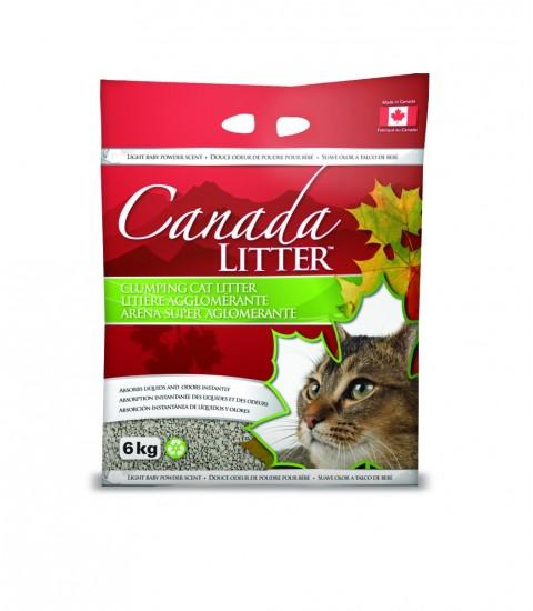 Canada Litter Pure Sodium Bentonite Clumping Litter 6kg