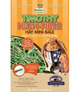 American Pet Diner APD Timothy High Fibre Hay 24oz