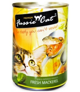 Fussie Cat Fresh Mackerel 400g X 24cans
