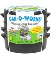 Australia Can-O-Worms Vermicomposting Set (Inclusive of 500g Malaysian Blue Worms)