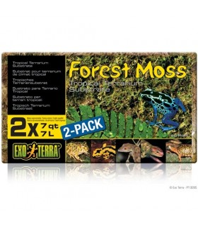 Exo Terra Forest Moss / Tropical Terrarium Substrate 2 pack