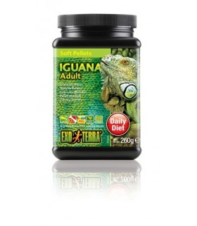 Exo Terra Adult Iguana Food Soft Pellets 260g