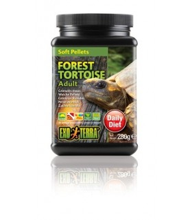 Exo Terra Adult Forest Tortoise Food Soft Pellets 280g