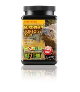 Exo Terra European Tortoise Soft Pellets - Adult, 9.5oz, 270g