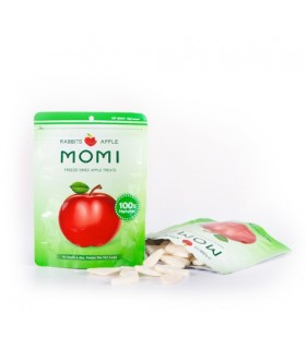 Momi Dried Apple Treats 15g