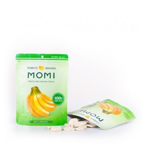 Momi Dried Banana Treats 15g