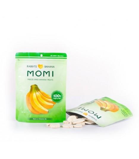 Momi Dried Banana Treats 15g