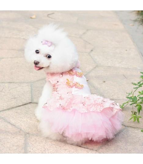 Cheong Sam Pink Dress