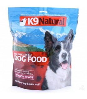 K9 Natural Venison Freeze Dried 1.8kg