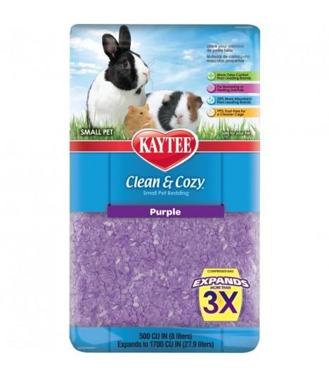 Kaytee Clean & Cozy Purple 500cu in