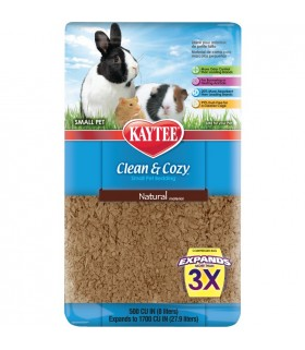 Kaytee Clean & Cozy Natural Bedding 500cu in