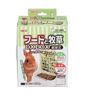 GEX Rabbit Grass & Food Box - DX White