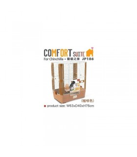 JP186 Jolly Pet Comfort Suite for Chinchilla - Coffee