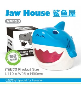 Pet Link Shark Ceramic Hideout