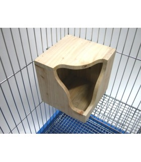 Pet Link Corner Wooden House