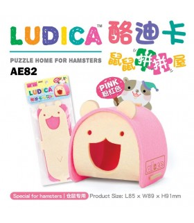 Alice Ludica Puzzle Home for Hamsters - Pink
