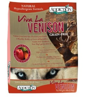 Addiction Viva La Venison Grain Free 4lbs