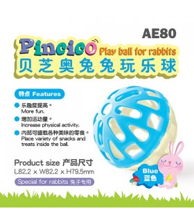 Alice Pincico Play Ball for Rabbits - Blue