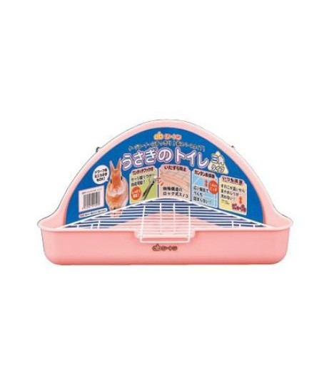 GEX Rabbit Triangle Toilet - Baby Pink