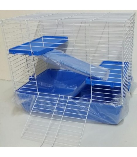 2 level platform chinchilla guinea pig cage moomoopets