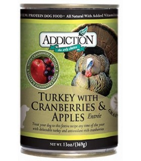 Addiction Turkey with Cranberries & Apple Entree