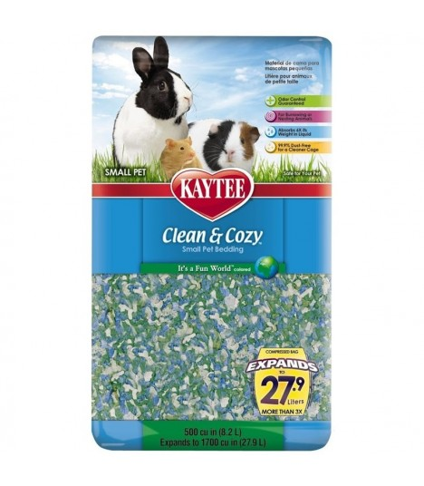 Kaytee Clean & Cozy Fun World 500cu in