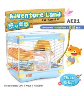 AE21 Alice Adventure Land Blue