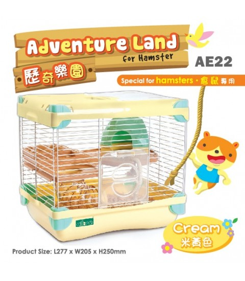 AE22 Alice Adventure Land Cream
