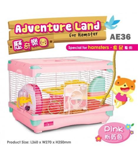 AE36 Alice Adventure Land Pink (Large)