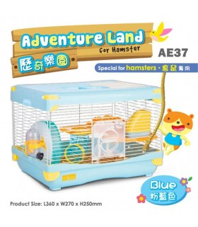 AE37 Alice Adventure Land Blue (Large)