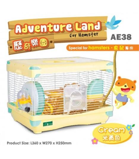 AE38 Alice Adventure Land Cream (Large)