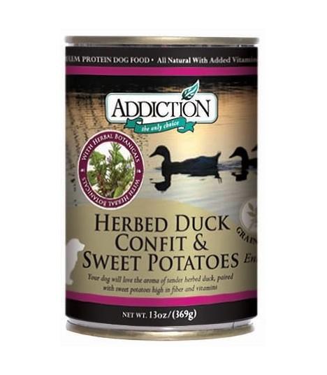 Addiction Herbed Duck Confit & Sweet Potatoes