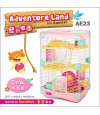 AE23 Alice Adventure Land Pink (Double Deck)