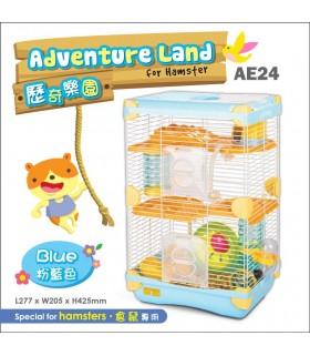 AE24 Alice Adventure Land Blue (Double Deck)