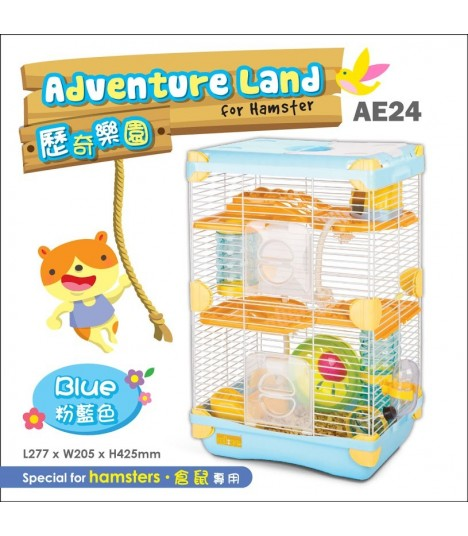 AE24 Alice Adventure Land Blue (Double Deck)