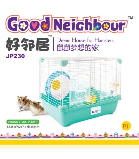 Jolly Good Neighbour Hamster Cage - Blue