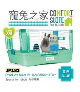 Jolly Comfort Suit for Rabbit (Large) - Blue