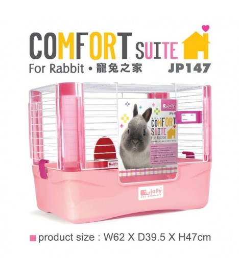 Jolly Comfort Suit for Rabbit - Pink