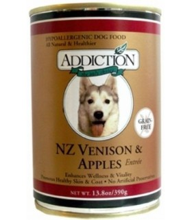 Addiction Dog NZ Venison & Apples Entree (Grain Free)