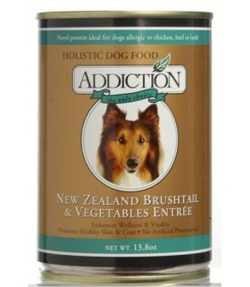 Addiction Dog Brushtail & Vegetables Entree (Grain Free)