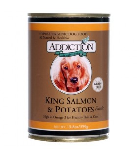 Addiction Dog King Salmon & Potatoes Entree (Grain Free)