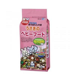 Marukan Rabbit/Chinchilla Baby Main Food 600g