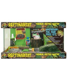 Zoo Med 10 Gallon ReptiHabitat Amphibian Kit