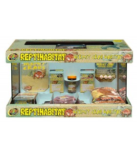 Zoo Med 10 Gallon ReptiHabitat Hermit Crab Kit
