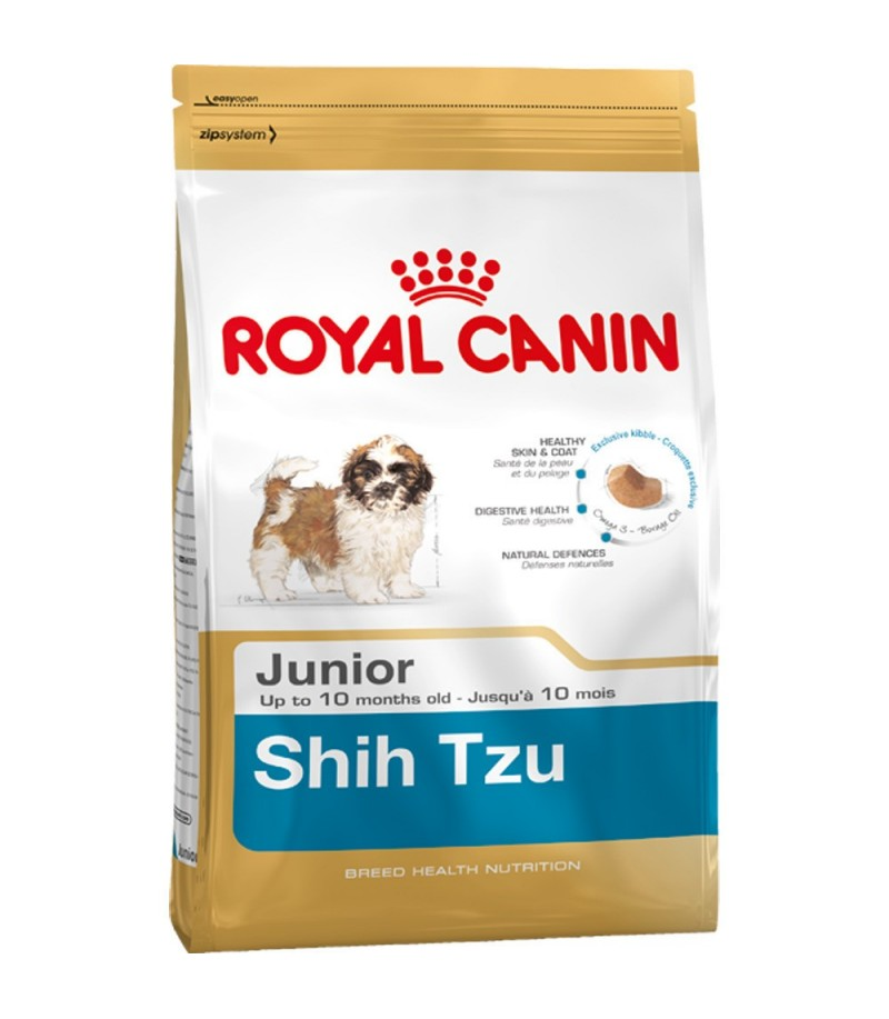 royal canin shih tzu junior moomoopets sg singapore 39 s online pet supplies shop. Black Bedroom Furniture Sets. Home Design Ideas
