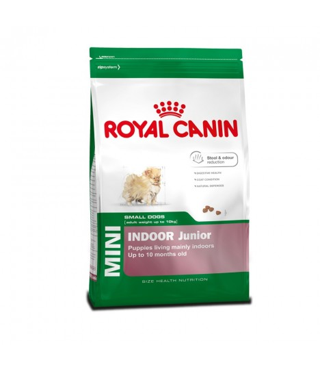royal canin mini indoor junior moomoopets sg singapore 39 s online pet supplies shop. Black Bedroom Furniture Sets. Home Design Ideas