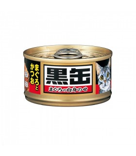 Aixia Kuro-can Mini - Tuna & Skipjack 80g